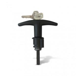 Ручка задней двери УАЗ 452 с покрытием черная 451А-6323130-10