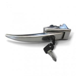 Ручка двери наружная передняя и боковая УАЗ-452 с покрытием хром. 450-6105151-10